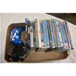 LOT OF ASSORTED COMPUTOR & PLAYSTATION GAMES ETC.