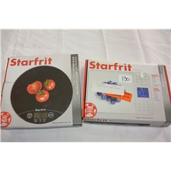 2 STARFRIT NUTRITIONAL SCALES