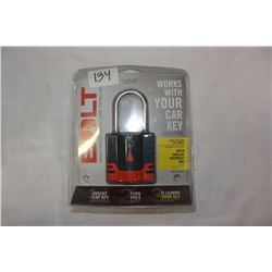 """BOLT 2"""" PADLOCK WORK WITH LATE MODEL BUICK CADDILAC CHEVY AND"""