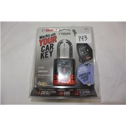 """2"""" PADLOCK WORKS WITH MOST CHRYSLER DODGE AND JEEP KEYS"""