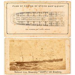 Rare NY Steamship CDV