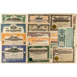 Colorado Oil Stock Certificate Collection