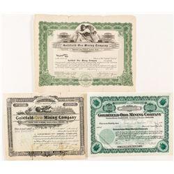 Oro Mining Stock Certificate lot