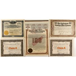 Mexican Mining Stock Certificates