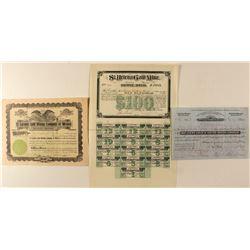Mexico Gold Mine Stock Certificates