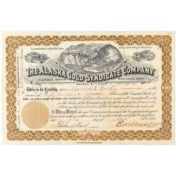 Alaska Gold Syndicate Company Stock