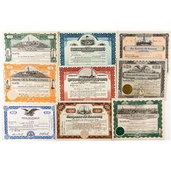 Colorado & Wyoming Oil Stock Certificates