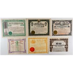 Best Group of Texas Oil Stock Certificates