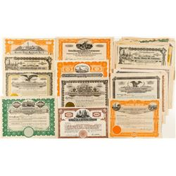 Oil Stock Certificate Collection