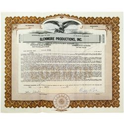Billy Rose Stock Certificate