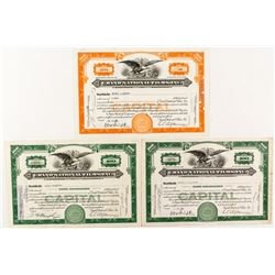 Grand National Films Stock Certificates