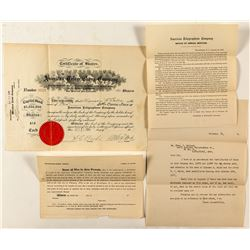 American Telegraphone Company Stock Certificate