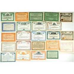 Radio Corporations Stock Certificates Group