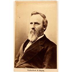 CDV of President Rutherford B. Hayes