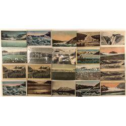 Alaska postcards: snow, ice, and glaciers