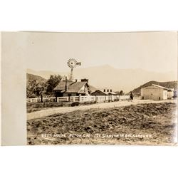 Photo Postcard of Mt. Sleason