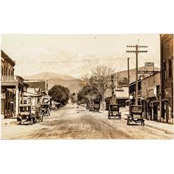 Main Street Photo Postcard