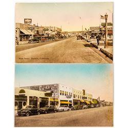 Main Street Photo Postcards