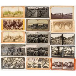 14 Bay Area Stereographs