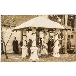 W.C.T.U. Fountain Photo Postcard
