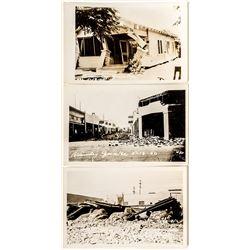 Real Photo Earthquake Postcards