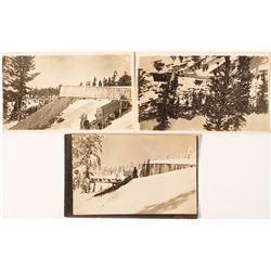 Oakland Mine Photo Postcards; Calpine, California