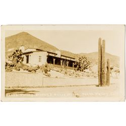 Scotty's Guest House Real Photo Postcard