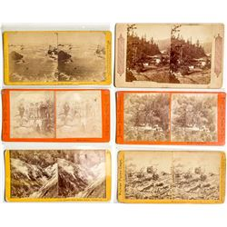 Geysers California Stereoviews