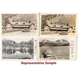 Frasher Photo Postcards of June Lake