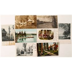 Early Tahoe Photo Postcards
