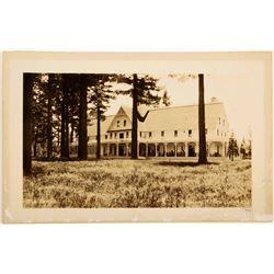 Tallac Lodge Photo Postcard