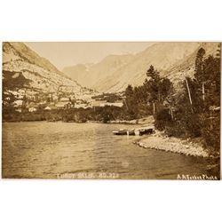 Lundy Lake Real Photo Postcard