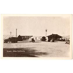 WWII Photo Postcard; Rice, California