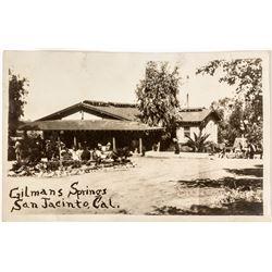Real Photo Postcard Gilman Springs