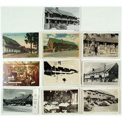 Historic Tahoe Inn Postcards (7 RPC's)