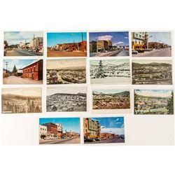 14 Truckee Postcards