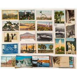 Southern California Desert Scenery Postcards