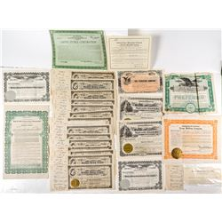 Stock Certificate Collection