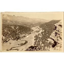 Bailey, Colorado Real Photo Postcard from Lookout