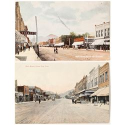Canon City Early hand colored Postcards