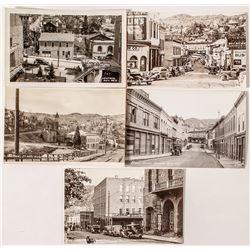 Central City Street Views Postcards