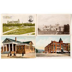 Buildings of Colorado Springs Postcards
