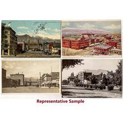 Colorado Springs Street Views Postcards