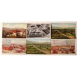 Colorado Springs View Postcards