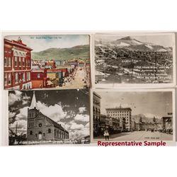 Cripple Creek Street Views Postcards
