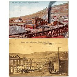 Two Postcards with Mailing Problems