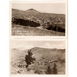 Two Views from Gold Hill