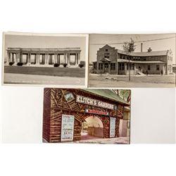 Three Denver Photo Postcards