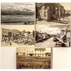 Fairplay Real Photo Postcards