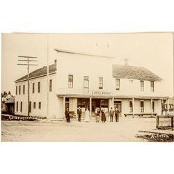 Hotel Windsor Photo Postcard; Fairplay